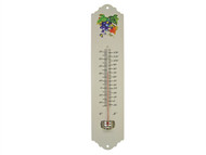 Faithfull FAITHMETAL - Thermometer Wall Enamel Metal 300mm