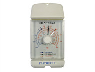 Faithfull FAITHMMDIAL - Thermometer Dial Max- Min