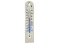 Faithfull FAITHPLASTIC - Thermometer Wall Plastic 200mm
