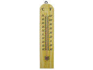 Faithfull FAITHWOODSM - Thermometer Wall Wood 260mm