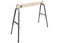 Faithfull FAITRESTLEWO - Steel / Wood Heavy-Duty Adjustable Trestle