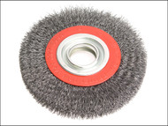 Faithfull FAIWBWW200 - Wire Wheel 200mm x 25 x 32mm 0.30mm Wire