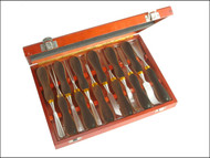 Faithfull FAIWCSET12 - Woodcarving Set in Case Set of 12