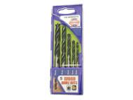Faithfull FAIWDBSET5 - Lip & Spur Wood Drill Bit Set of 5
