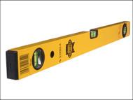 Faithfull FAIWF1800 - Stabila Box Section Spirit Level 3 Vial 180cm (72in)