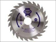 Faithfull FAIZ16024 - Circular Saw Blade 160 x 30mm x 24T Fast Rip
