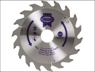 Faithfull FAIZ16518 - Circular Saw Blade 165 x 30mm x 18T Fast Rip