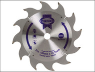 Faithfull FAIZ18012 - Circular Saw Blade 180 x 16mm x 12T Fast Rip