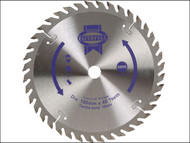 Faithfull FAIZ18040 - Circular Saw Blade 180 x 16mm x 40T Fine Cross Cut