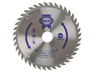 Faithfull FAIZ1904030 - Circular Saw Blade 190 x 16/20/30mm x 40T Fine Cross Cut