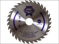 Faithfull FAIZ21032 - Circular Saw Blade 210 x 16/25/30/35 x 32T Fine Finish