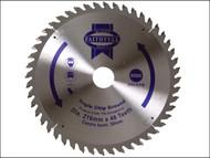 Faithfull FAIZ21648TCG - Circular Saw Blade 216 x 30mm x 48T TCG NEG
