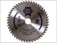 Faithfull FAIZ21648Z - Circular Saw Blade 216 x 30mm x 48T Zero Degree