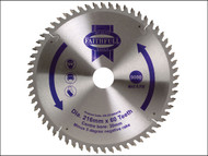 Faithfull FAIZ21660ATB - Circular Saw Blade 216 x 30mm x 60T NEG