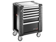 Facom FCMJET6GM3 - Jet.6GM3 Roller Cabinet 6 Drawer Black