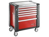 Facom FCMJET6M4 - Jet.6M4 Roller Cabinet 6 Drawer Red