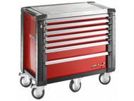 Facom FCMJET7M5 - Jet.7M5 Roller Cabinet 7 Drawer Red