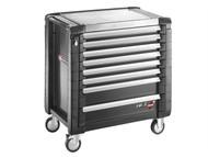 Facom FCMJET8GM4 - Jet.8GM4 Roller Cabinet 8 Drawer Black