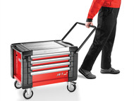 Facom FCMJETCR4M3 - JET.CR4M3 Mobile Chest Jet M3 4 Drawer Red