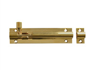 Forge FGEDBLTBR4 - Door Bolt - Brass 100mm (4in)