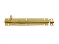Forge FGEDBLTBR6 - Door Bolt - Brass 150mm (6in)