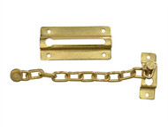 Forge FGEDCHNBR80 - Door Chain - Brass Finish Plated 80mm