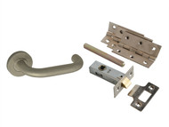 Forge FGEDPCKSSRTD - Return To Door Handle Pack Stainless Steel