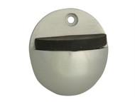 Forge FGEDSOVALAL - Oval Door Stop Aluminium 50mm