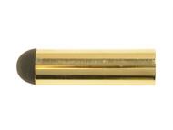 Forge FGEDSPROJBR - Projecting Door Stop Brass Finish 62mm