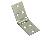 Forge FGEHNGBFZP25 - Backflap Hinge Zinc Plated 25mm (1in) Pack of 2
