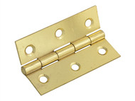 Forge FGEHNGBTBP75 - Butt Hinge Brass Finish 75mm (3in) Pack of 2