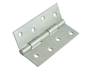 Forge FGEHNGBTZP10 - Butt Hinge Steel Zinc Plated 100mm (4in) Pack of 2