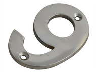 Forge FGENUM9CH75 - Numeral No.9 - Chrome Finish 75mm (3in)