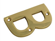 Forge FGENUMBBR75 - Letter B - Brass Finish 75mm (3in)