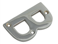 Forge FGENUMBCH75 - Letter B - Chrome Finish 75mm (3in)
