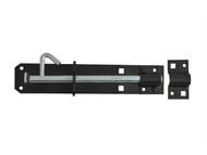 Forge FGEPBLTBLK8 - Padlock Bolt Black Powder Coated 200mm (8in)