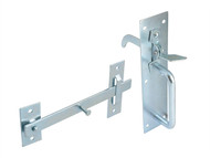 Forge FGESUFLATZP - Suffolk Latch - Zinc Plated