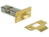 Forge FGETUBLBR25 - Tubular Mortice Latch Brass Finish 65mm (2.5in)