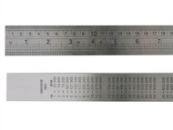 Fisher FIS39 - F39ME Steel Rule 1 Metre / 39in