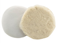 Flexipads World Class FLE40230 - Wool Bonnet 200mm VELCRO Brand