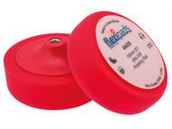 Flexipads World Class FLE44420 - Red Polishing Foam 150 x 50mm VELCRO Brand