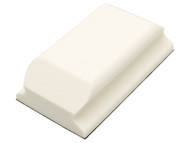 Flexipads World Class FLE93070 - Hand Sanding Block Shaped White PUR VELCRO Brand 70 x 125mm