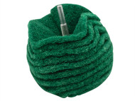 Flexipads World Class FLEBA420 - Scruff Ball 100mm / 4in Green Medium