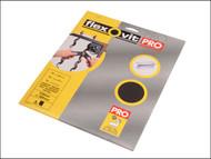 Flexovit FLV26308 - Emery Cloth Sanding Sheets 230 x 280mm Coarse 50g (3)