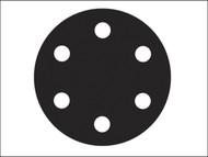 Flexovit FLV26396 - Hook & Loop Sanding Discs 150mm Medium 80g (Pack of 6)