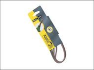 Flexovit FLV26733 - Powerfile Sanding Belt 454mm x 13mm Assorted (Pack of 6)