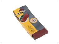 Flexovit FLV26784 - Cloth Sanding Belts 75mm x 457mm Assorted (6)
