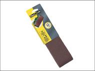 Flexovit FLV26790 - Cloth Sanding Belts 533mm x 75mm Assorted (4)