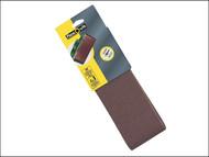 Flexovit FLV26816 - Cloth Sanding Belts 610mm x 100mm Assorted (6)