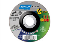 Flexovit FLV43018 - Accu Cutting & Grinding Discs 115 x 22mm Pack of 2